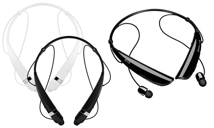 LG Tone Pro Bluetooth In-Ear Headphones with Mic (Refurbished)