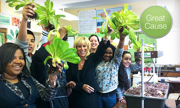 Earth Day New York - Murray Hill: If 32 People Donate $10, Then Earth Day New York Can Provide One Classroom with a Portable Indoor Organic Garden