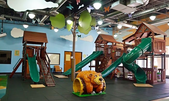 Kids Time - Spring Valley: An Indoor-Playground Visit at Kids Time (50% Off)