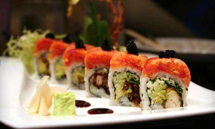 Kyoto Japanese Restaurant - Wake Forest: Sushi and Hibachi at Dinner for Two or Four at Kyoto Japanese Restaurant (Up to Half Off)