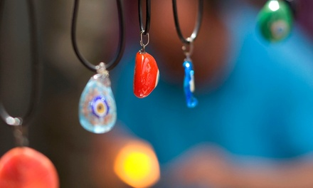 Fine Glass Jewelry from Murano Glass (50% Off). Two Options Available.