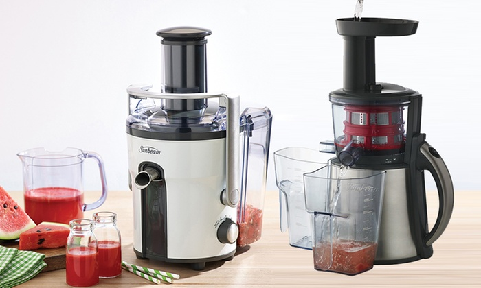 Slow Juicer Groupon : Sunbeam Automatic Juicer Groupon Goods