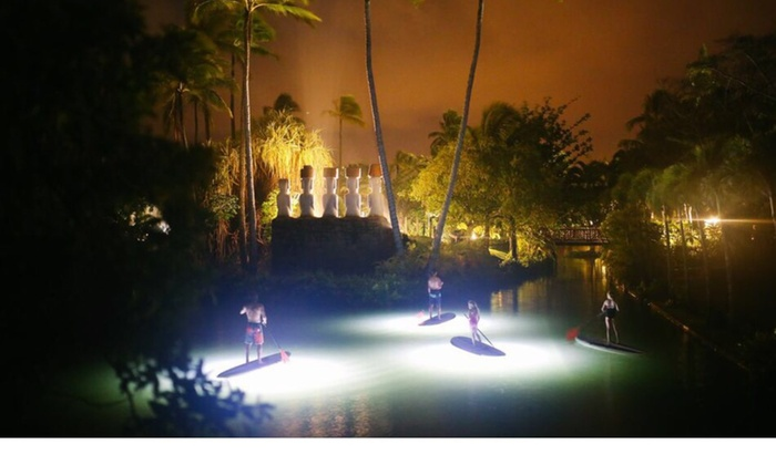North Shore Explorers - Koolauloa: Up to 50% Off Moonlight Paddle Board or Kayak Tour  at North Shore Explorers