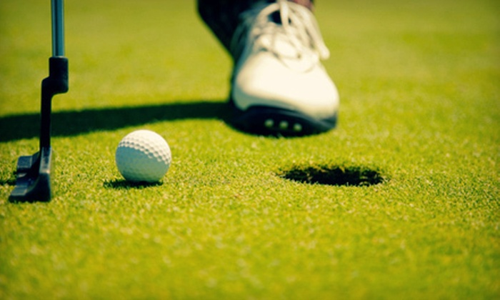 The Legacy Golf Course - Springfield: $25 for an 18-Hole Round of Golf with Cart Rental and Small Bucket of Range Balls at The Legacy Golf Course in Springfield (Up to $51 Value)