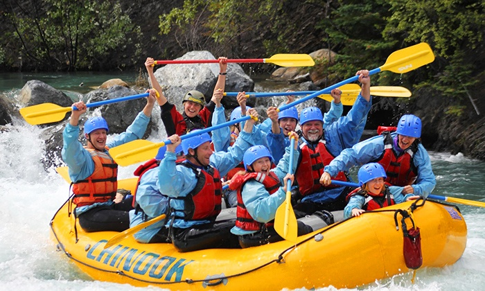 Chinook Rafting - Nakoda Lakeside Lodge: C$59 for Whitewater Rafting Trip from Chinook Rafting (Up to C$119 Value)
