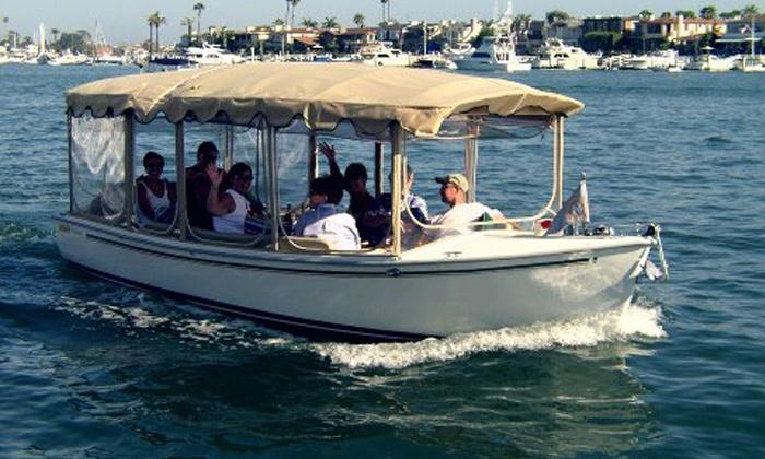 Huntington Harbor Boat Rentals - Huntington harbor boat rentals: Two-Hour Electric-Boat Rental for Up to 12 from Huntington Harbor Boat Rentals (Up to 54% Off)