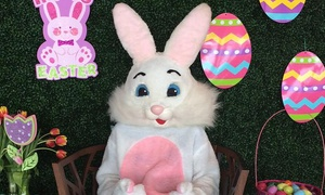 45-Minute Easter Bunny Photo Opportunity for Birthday Parties at Trusted Party Rentals (Up to 57% Off)