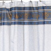 Fleur Fabric Shower Curtains