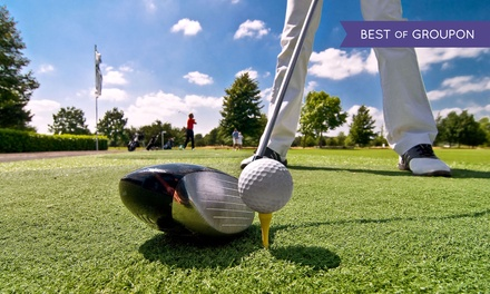[$55 for 18-Hole Round of Golf for One with Cart and Range Balls at Waverly Oaks Golf Club ($95 Value) Image]
