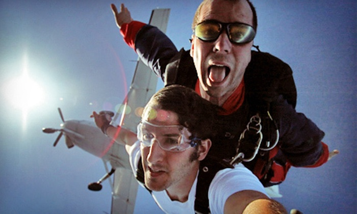 Skydive Colorado - Penrose: $295 for Tandem Skydiving for Two with Photos and Video from Skydive Colorado ($540 Value)
