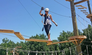 Kersey Valley High Ropes Course: $38Two-Hour High-Ropes Course for Two at Kersey Valley High Ropes Course ($64 Value)