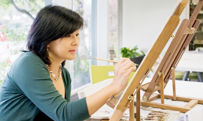 Ajay's Art - Johannesburg: Mixed Media Two Hour Painting Class from R210 at Ajay's Art (Up to 70% Off)