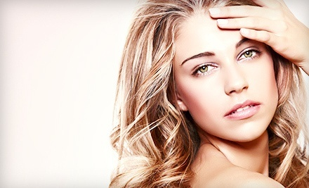 Cut, Style, and Blowout with Conditioning, All-Over Color, or Partial Highlights at Shear Steel Salon (Up to 64% Off)