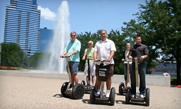 Segway Tours of Grand Rapids - Brown Loading Dock Door: 60-Minute Segway Tour for One, Two, or Four from Segway Tours of Grand Rapids (Half Off)