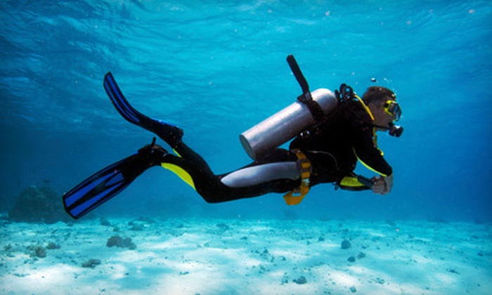 HydroSports Dive and Travel - Keizer: Discover Scuba or Open-Water Diver-Certification Course for One or Two at HydroSports Dive and Travel (Up to 60% Off)