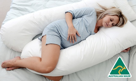 $49 for a Maternity Pregnancy Support Body Pillow (Dont Pay $99)
