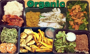 GTZ Eatz: Up to 65% Off Organic Meals at GTZ Eatz