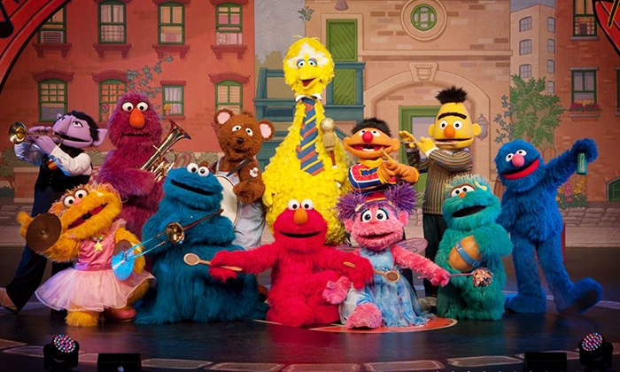 """""""Sesame Street Live!: Can't Stop Singing"""" - Mississippi Coliseum: Sesame Street Live """"Can't Stop Singing"""" at Mississippi Coliseum on June 15 at 2 p.m. or 5:30 p.m. (Up to 48% Off)"""