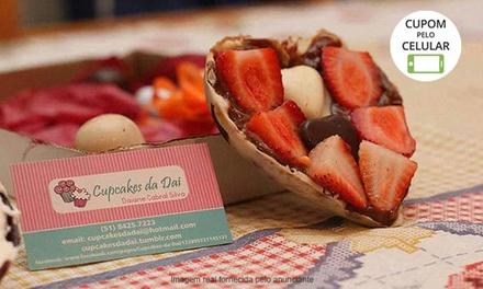 Cupcakes da Dai & Café – São João: 1 ovo de Páscoa de 150 ou