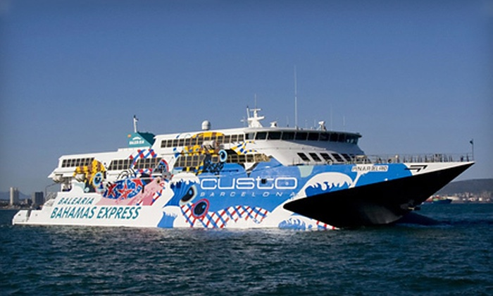 Balearia Bahamas Express - Port Everglades: One- or Multi-Day Fast Ferry to the Bahamas from Balearia Bahamas Express (Up to 56% Off)