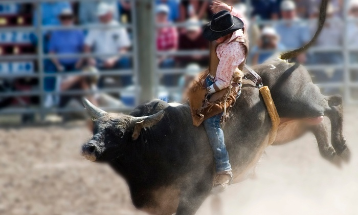 LuLu Shriners' Liberty Pro Rodeo - LuLu Shriners Auditorium: Liberty Pro Rodeo Show for Two or Four at LuLu Shriners Arena on September 11–14 (Up to 59% Off)