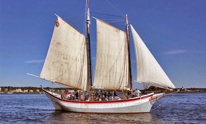Gloucester Maritime Heritage Center - Gloucester: Two-Hour Schooner Trip for One or Four Plus Admission to Maritime Gloucester (Up to 44% Off)