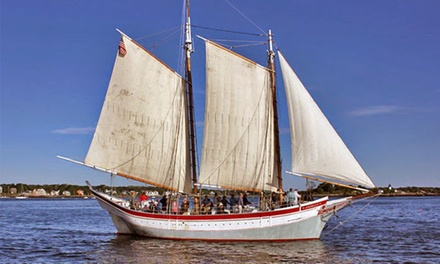 Two-Hour Schooner Trip for One or Four Plus Admission to Maritime Gloucester (Up to 44% Off)