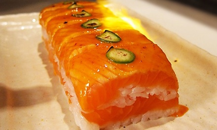 Japanese Cuisine for Dinner for Two People at Kibo Restaurant and Lounge (Up to 42% Off)