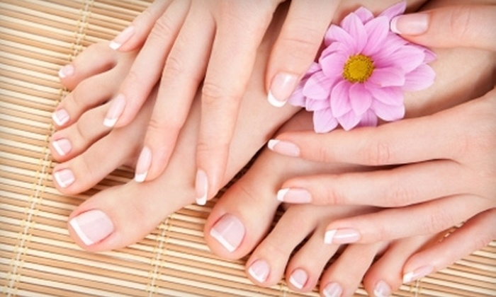Salon Christopher - Washington: One Mani-Pedi or Three Manicures or Pedicures at Salon Christopher in Sewell (Up to 57% Off)