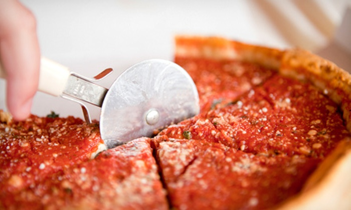 Chicago 7 Pizzeria - Cascade: One or Two Groupons, Each Valid for $15 Worth of Deep-Dish Pizza and Subs at Chicago 7 Pizzeria (Up to Half Off)