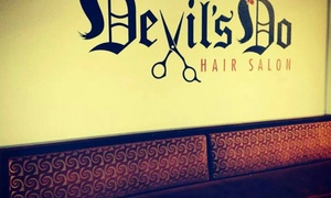 Devil's Do Hair Salon: $28 for $55 Groupon — Devils Do Hair Salon