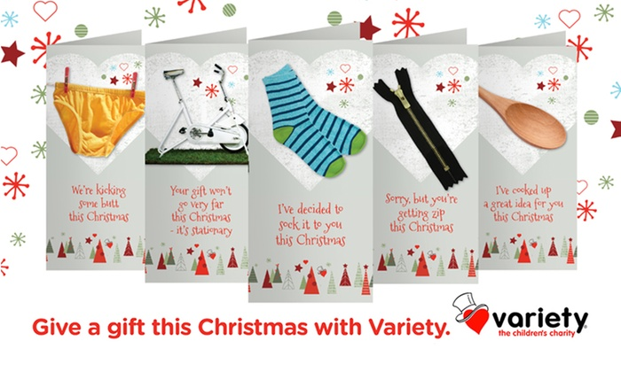 Variety Give a Gift Christmas Donation | Groupon Goods