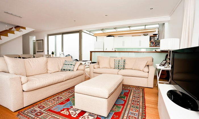KNJ Service - Richmond: Carpet Cleaning for Two Rooms and a Hallway or Upholstery Cleaning for a Sofa from KNJ Service (Up to 59% Off)