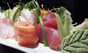 50% Off at Sakesan Sushi & Bistro at Sakesan Sushi & Bistro, plus 9.0% Cash Back from Ebates.