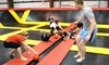 Stratosphere Trampoline Park-Hainesport -OOB (ACQUIRED BY ALTITUDE) - Stratosphere Trampoline Park: Two Hours of Jump Time for Two or Four People at Stratosphere Trampoline Park (Up to 39% Off)
