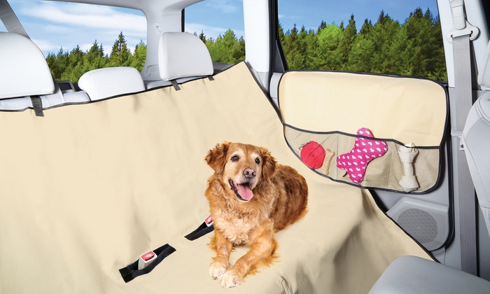 pet car protector deluxe set groupon goods. Black Bedroom Furniture Sets. Home Design Ideas