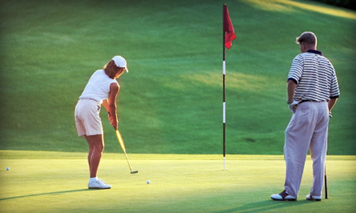 Arroyo Seco Golf Club - Olga,Monterey Hills,Garvanza: One-Hour Group Intro Lesson or Half-Hour Private Lesson at Arroyo Seco Golf Club in South Pasadena (Up to 56% Off)