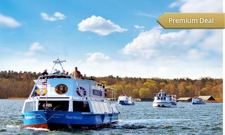 5-Seen-Rundfahrt ab Malchow oder 7-Seenfahrt ab Waren/Müritz für Zwei mit Blau-Weisse Flotte ab 19,90 €