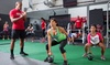UFC GYM - Multiple Locations: $29 for Two Weeks of Unlimited Fitness Classes with One Personal-Training Session at UFC GYM ($139 Value)