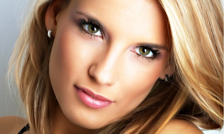 Cut, Style, and Full or Partial Highlights at Hi Lights Hair Studio (47% Off)