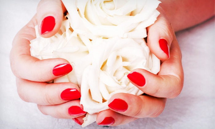 Remix Hair Co. - Hollywood: One or Three Groupons, Each Good for One Gel Manicure at Remix Hair Co. (Half Off)