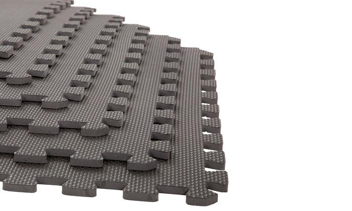 stalwart eva foam floor mats 6pack stalwart eva foam