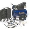 Primefit Six-Gallon Air Compressor and 52-Piece Accessory Set