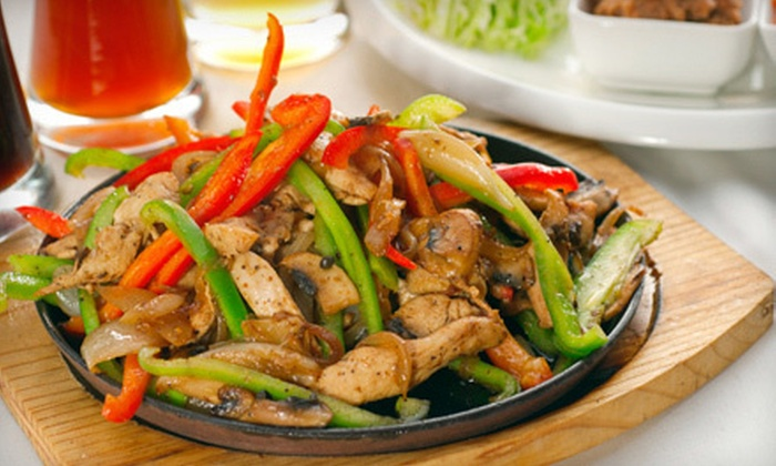 Fiesta Mexicana Restaurant - DePaul: Mexican Food and Drinks at Fiesta Mexicana Restaurant (Up to 52% Off). Two Options Available.