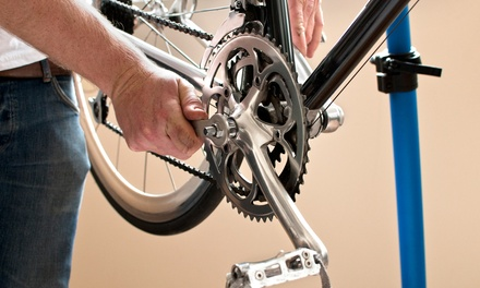 Bicycle Tune-Up with Pickup and Drop-Off or Beach-Cruiser Rental for One or Two at The Bicycle Clinic (63% Off)