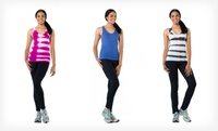 GROUPON: Up to 66% Off 90 Degrees by Reflex Tanks and Pants 90 Degree by Reflex