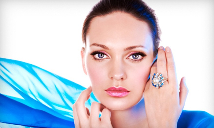 Skin Religion at Jo Paris Salon & Spa - Paradise Valley: One, Three, or Five Microcurrent Collagen Facials at Skin Religion at Jo Paris Salon & Spa in Scottsdale (Up to 65% Off)