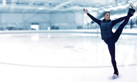 Open-Skate Session for Two or Four with Skate Rentals at Twin Rinks Ice Center (50% Off)