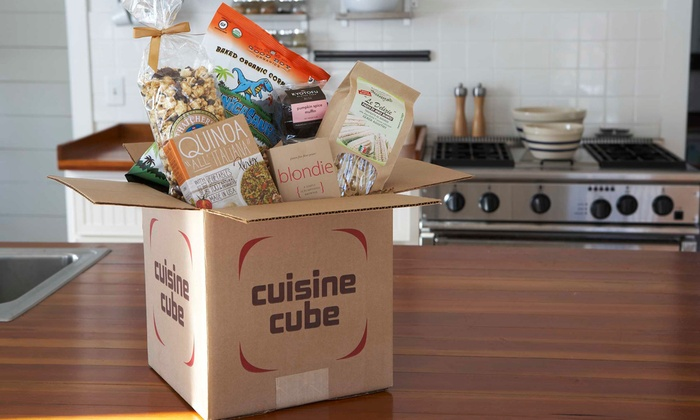 Cuisine Cube: $19.99 for $34.99 Toward a One, Three, or Six Month Gluten-Free Food Subscription from Cuisine Cube