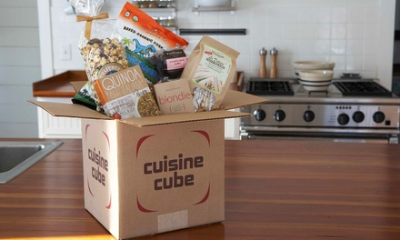 $19.99 for $34.99 Toward a One, Three, or Six Month Gluten-Free Food Subscription from Cuisine Cube
